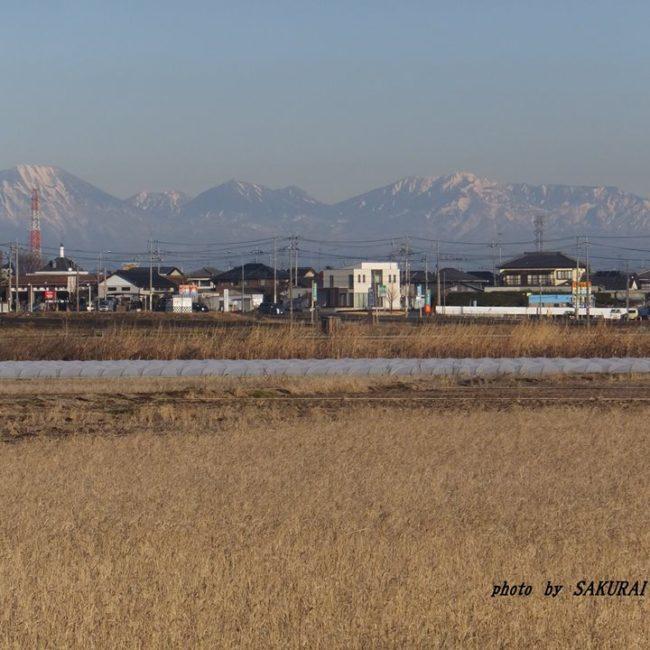 日光連山 2015.1.29