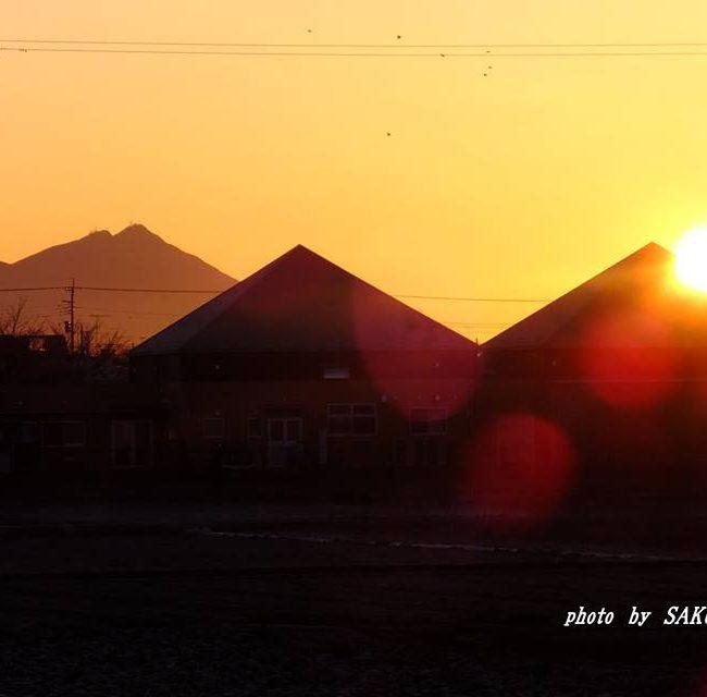 今朝の筑波山 2015.2.10