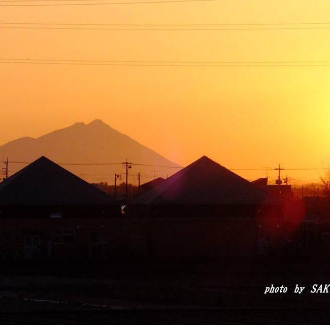 今朝の筑波山 2015.2.11