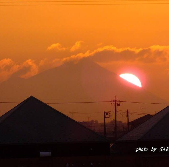 今朝の筑波山 2015.2.20
