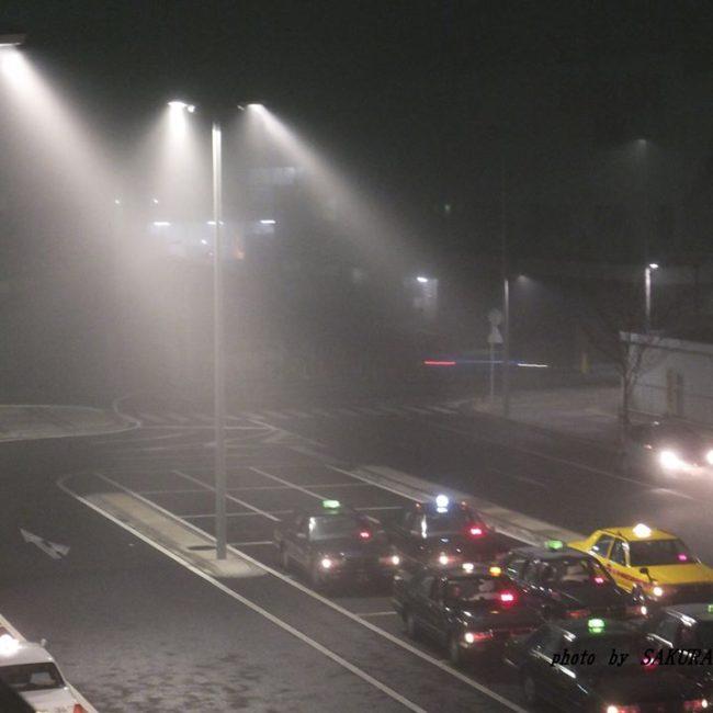 霧にむせぶ夜 2014.11.12