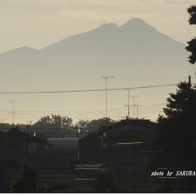 今朝の筑波山 204.9.2