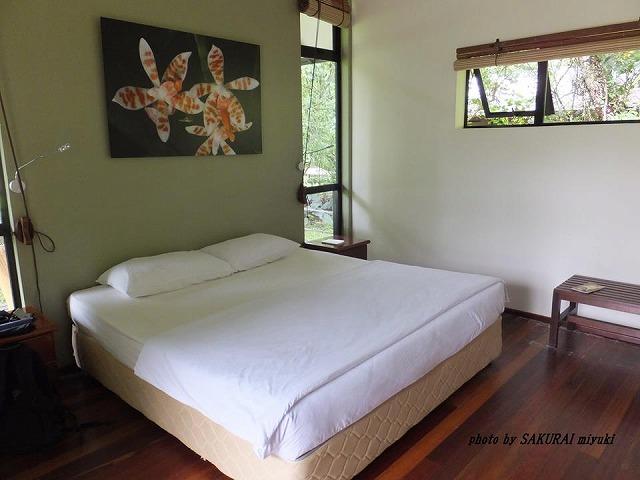 グヌンムル国立公園内バンガロー